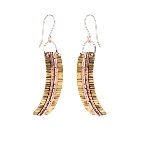 Curved Traditional Earrings