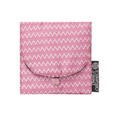 Pink Chevron Jewelry Pouch