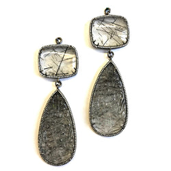 Carved Tourmalated Quartz 3