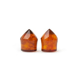Burmese Amber Faceted Plugs