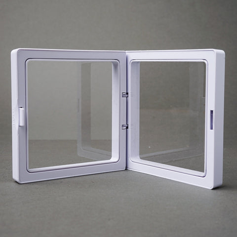 Square White Display Frames