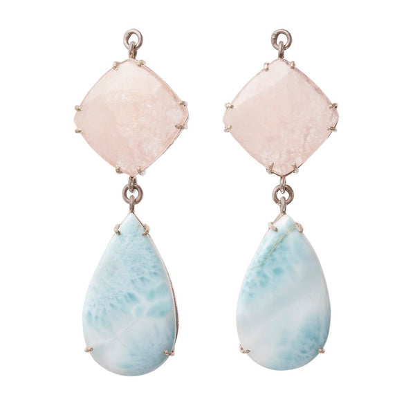 Morganite & Larimer Jollie