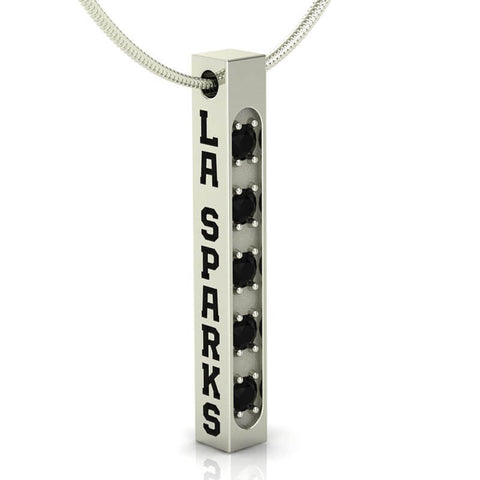 Los Angeles Sparks Championship Bar Necklace
