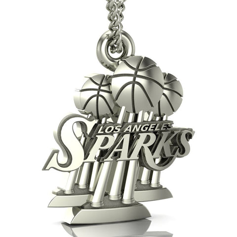 Los Angeles Sparks Championship Top Logo Pendant