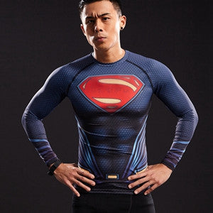 SUPERMAN Compression Gym Shirt (new)