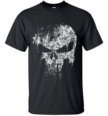 Punisher Fading Skull T-Shirts for Men (Available in 13 Different Colors)