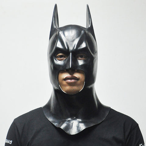 Batman Full Face Latex Mask