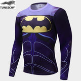 Batman Compression Shirt for Men (Long Sleeve) Edition E