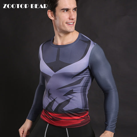 Goku Dragon Ball Z Compression Shirt for Men (Long Sleeve)