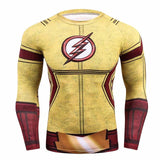 The Flash Winter Soldier 3D Compression Shirt for Men (Long Sleeve)