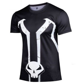 Spawn Compression Shirt for Men (Short Sleeve) Edition A