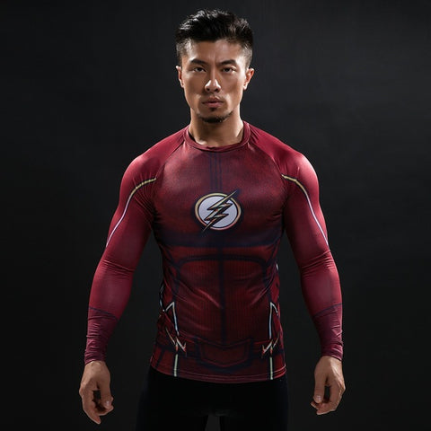 The Flash Compression Shirt for Men (Long Sleeve)