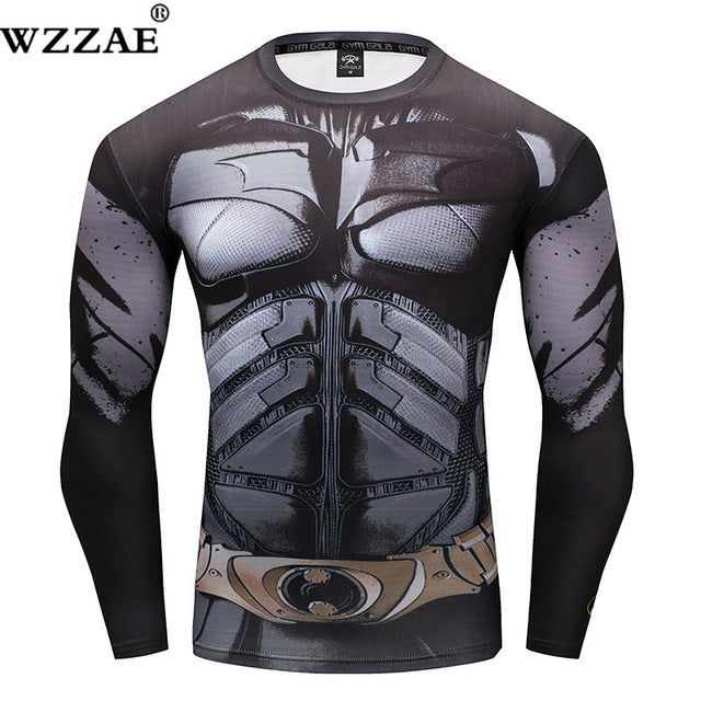 7d115feaf6a28 Superhero Compression Shirt for Men (Long Sleeve) Edition B ...