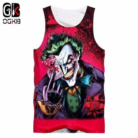 Joker Tank Top for Women Edition D