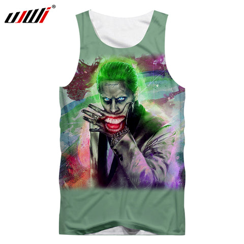 Joker Tank Top for Men Edition D