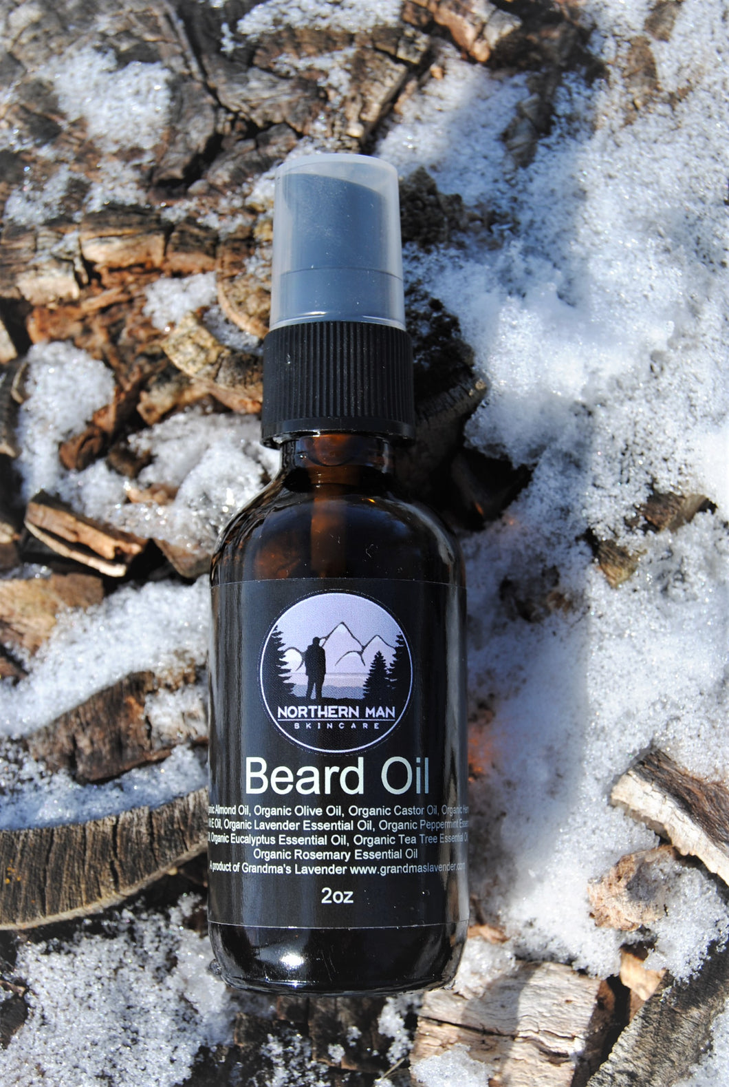 Northern Man Beard Oil - Grandma's Lavender
