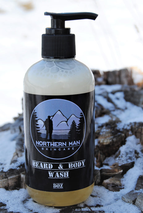Northern Man Beard & Body Wash - Grandma's Lavender