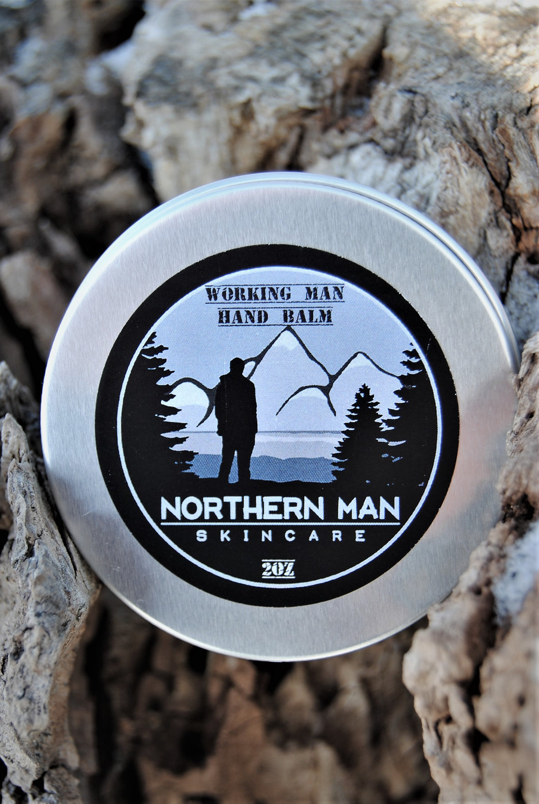 Northern Man Working Man Hand Balm - Grandma's Lavender