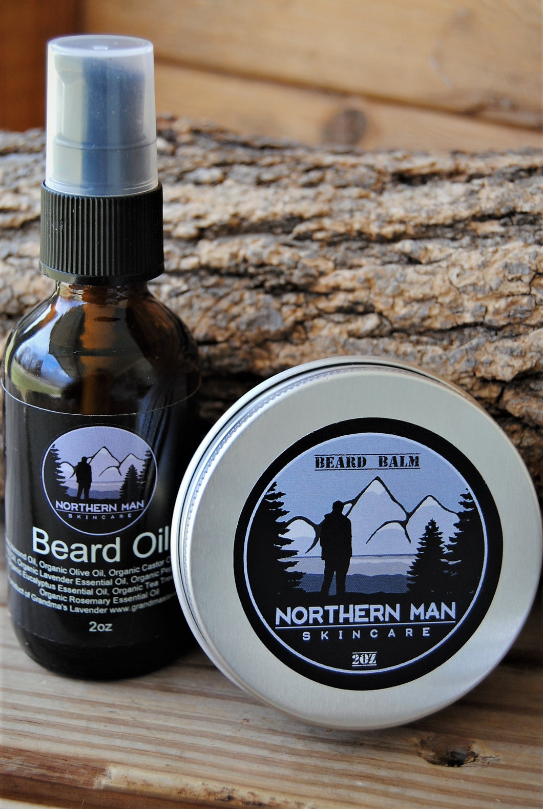 Northern Man Beard Care Set - Grandma's Lavender