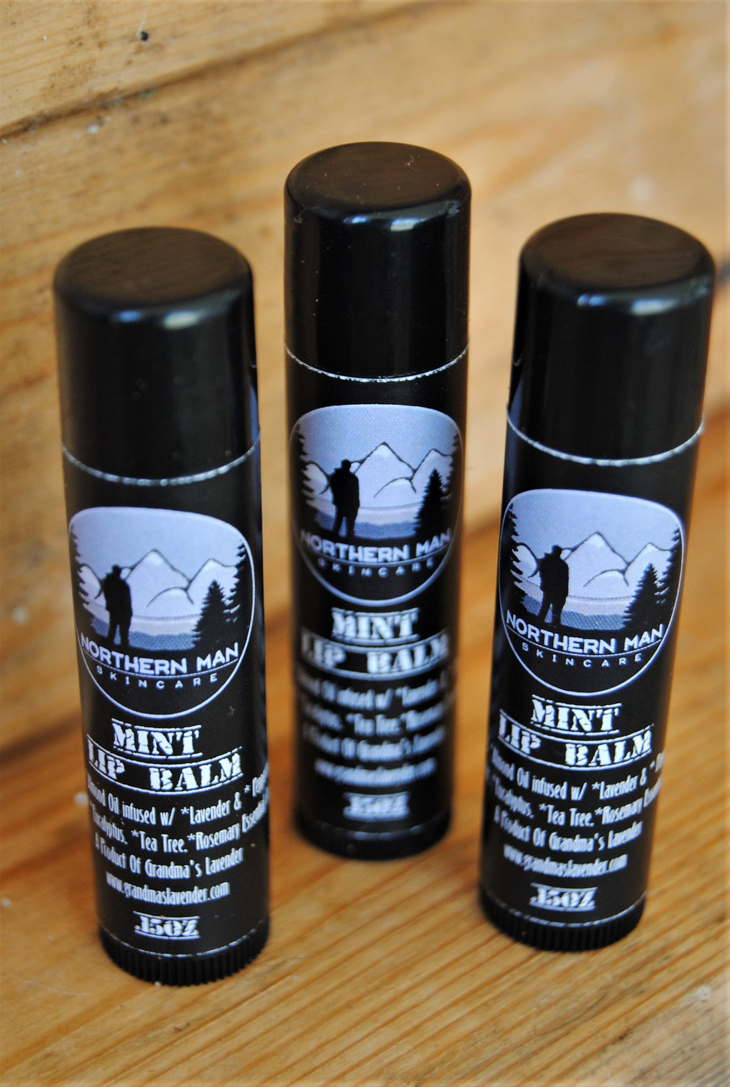 Northern Man Lip Balm 3 Pack - Grandma's Lavender