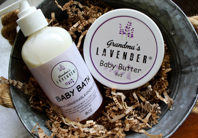 Baby's Gentle Skin-Care Set - Grandma's Lavender