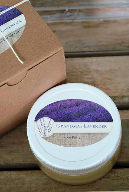 Body Butter- Boxed - Grandma's Lavender