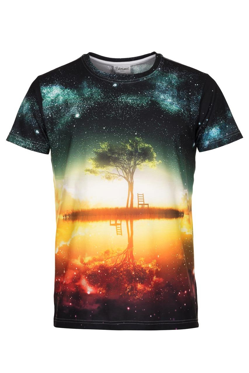 Tree T-shirt T-shirt Men - Bittersweet Paris, printed, streetwear, urbran, fashion, outfit, unique, clothes,