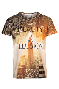Reality T-shirt T-shirt Men - Bittersweet Paris, printed, streetwear, urbran, fashion, outfit, unique, clothes,