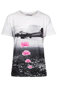Banksy T-shirt T-shirt Women - Bittersweet Paris, printed, streetwear, urbran, fashion, outfit, unique, clothes,