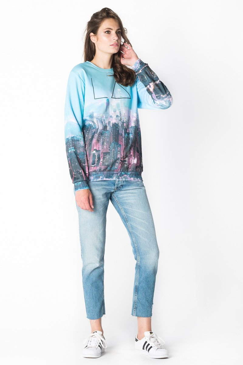 New Vision Jumper Jumper Women - Bittersweet Paris, printed, streetwear, urbran, fashion, outfit, unique, clothes,