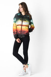 Tree Bomber Jacket Bomber Jacket Women - Bittersweet Paris, printed, streetwear, urbran, fashion, outfit, unique, clothes,