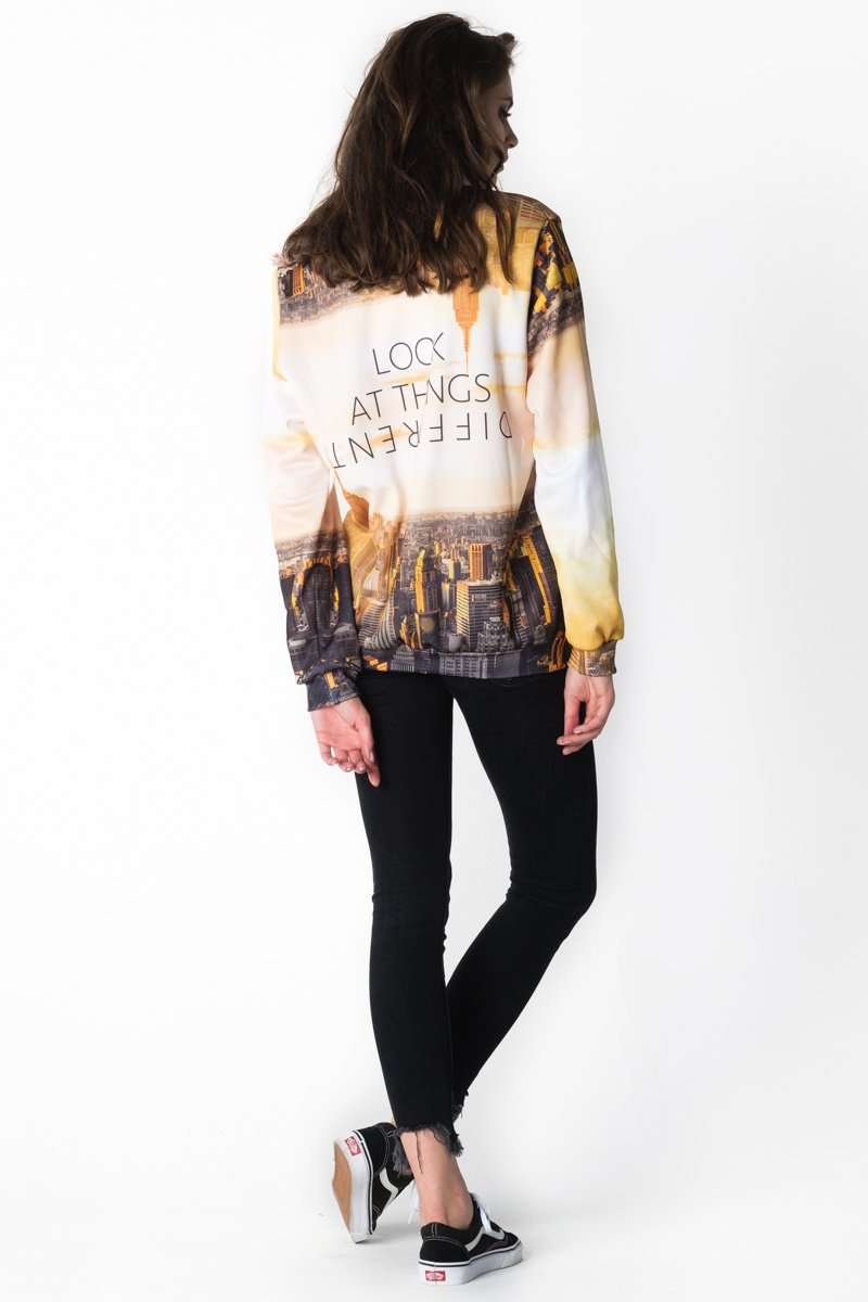 Perspective Jumper Jumper Women - Bittersweet Paris, printed, streetwear, urbran, fashion, outfit, unique, clothes,