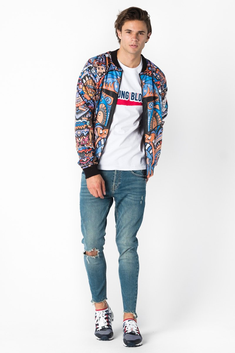 Boba Fett Bomber Jacket Bomber Jacket Men - Bittersweet Paris, printed, streetwear, urbran, fashion, outfit, unique, clothes,