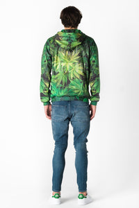 Weed Hoodie Hoodie Men - Bittersweet Paris, printed, streetwear, urbran, fashion, outfit, unique, clothes,