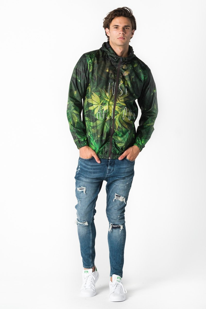 Weed Windbreaker Windbreaker Men - Bittersweet Paris, printed, streetwear, urbran, fashion, outfit, unique, clothes,
