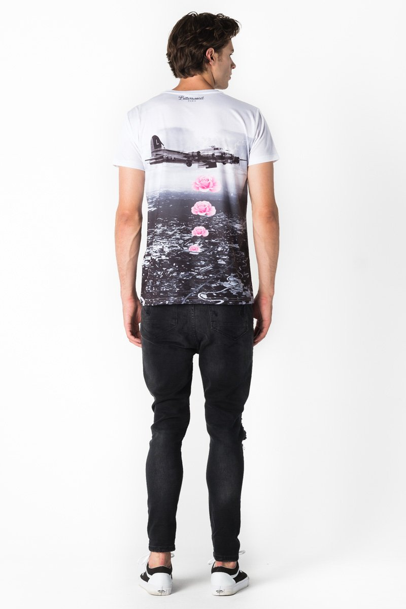 Banksy T-shirt T-shirt Men - Bittersweet Paris, printed, streetwear, urbran, fashion, outfit, unique, clothes,