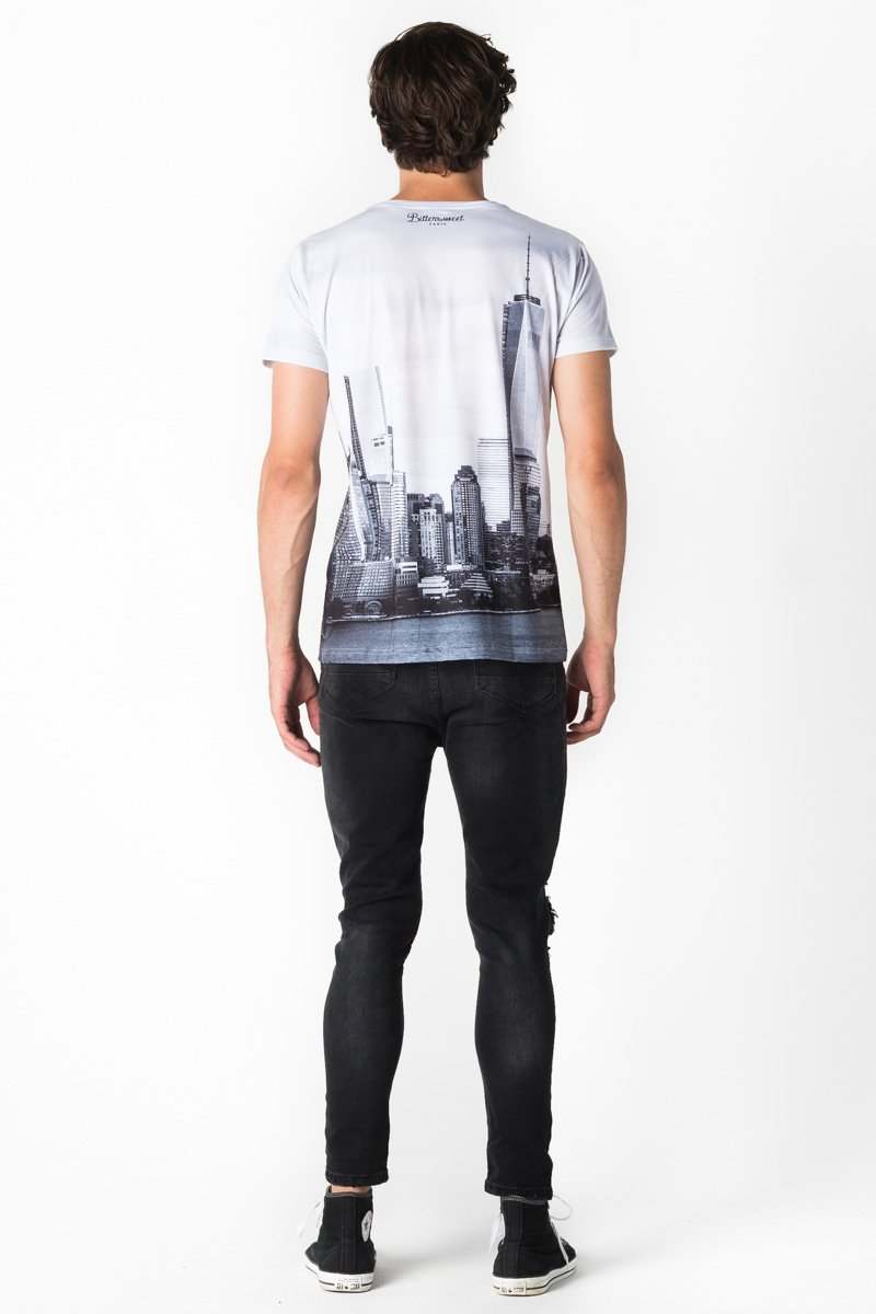Sky Is The Limit T-shirt T-shirt Men - Bittersweet Paris, printed, streetwear, urbran, fashion, outfit, unique, clothes,