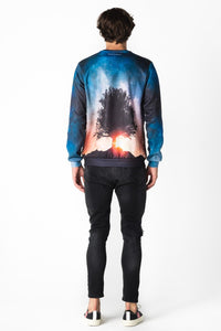 Stars Jumper Jumper Men - Bittersweet Paris, printed, streetwear, urbran, fashion, outfit, unique, clothes,
