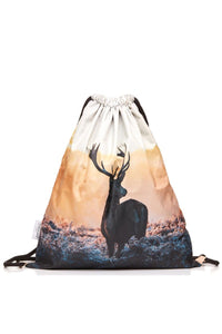 Deer Backpack Backpack - Bittersweet Paris, printed, streetwear, urbran, fashion, outfit, unique, clothes,