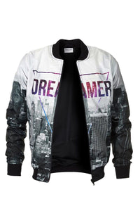 Dreamer Bomber Jacket Bomber Jacket Men - Bittersweet Paris, printed, streetwear, urbran, fashion, outfit, unique, clothes,