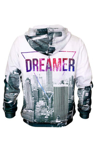 Dreamer Hoodie Hoodie Men - Bittersweet Paris, printed, streetwear, urbran, fashion, outfit, unique, clothes,