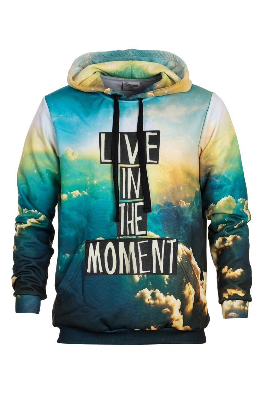 Moment Hoodie Hoodie Men - Bittersweet Paris, printed, streetwear, urbran, fashion, outfit, unique, clothes,