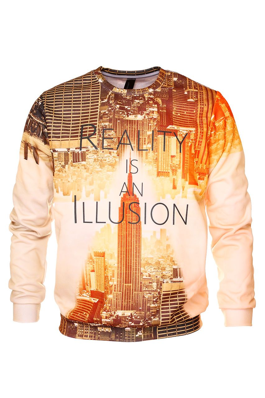 Reality Jumper Jumper Men - Bittersweet Paris, printed, streetwear, urbran, fashion, outfit, unique, clothes,