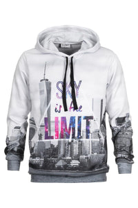 Sky Is The Limit Hoodie Hoodie Men - Bittersweet Paris, printed, streetwear, urbran, fashion, outfit, unique, clothes,