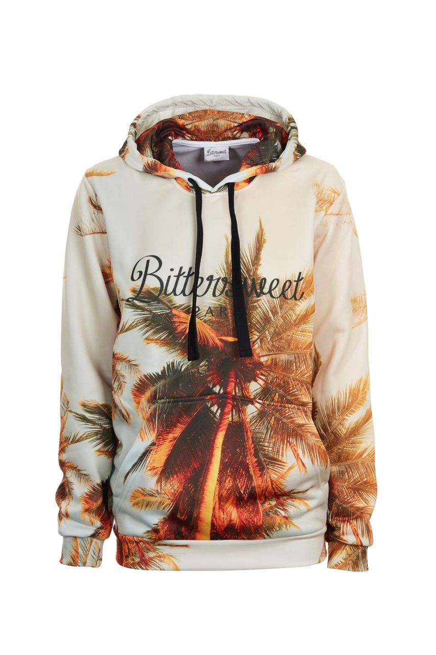 Tropical Hoodie Hoodie Women - Bittersweet Paris, printed, streetwear, urbran, fashion, outfit, unique, clothes,