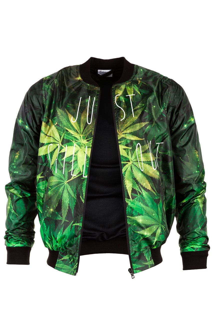 Weed Bomber Jacket Bomber Jacket Men - Bittersweet Paris, printed, streetwear, urbran, fashion, outfit, unique, clothes,