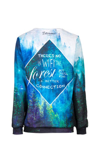 Forest Jumper Jumper Women - Bittersweet Paris, printed, streetwear, urbran, fashion, outfit, unique, clothes,