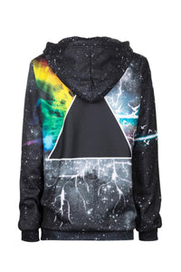 Prismatic Hoodie Hoodie Women - Bittersweet Paris, printed, streetwear, urbran, fashion, outfit, unique, clothes,