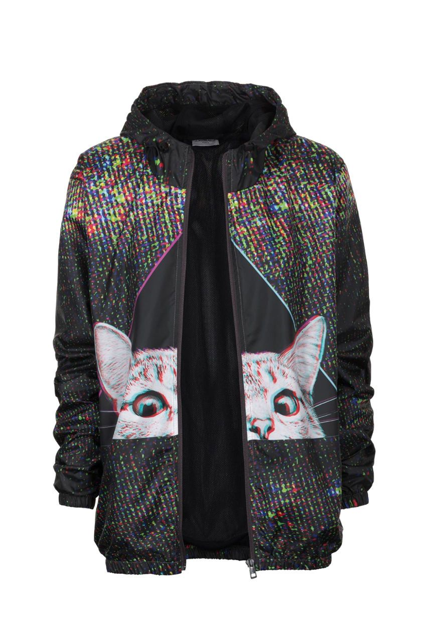 Technocat Windbreaker Windbreaker Women - Bittersweet Paris, printed, streetwear, urbran, fashion, outfit, unique, clothes,