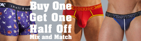 Buy One Underwear Get One Half Off